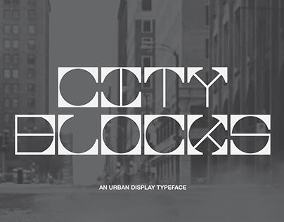 City Blocks Modular Font