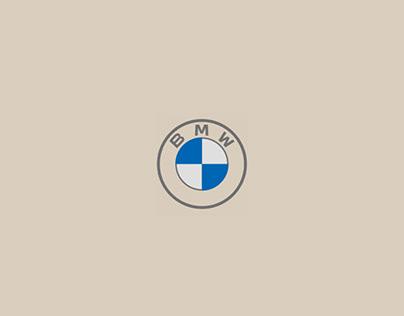 Концепт главной страницы сайта BMW