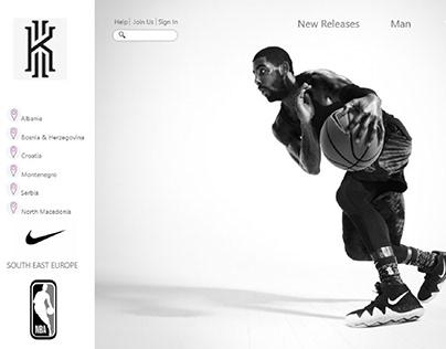 Kyre Irving Nike Web site