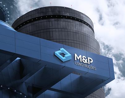 M&P Construções - Visual Identity