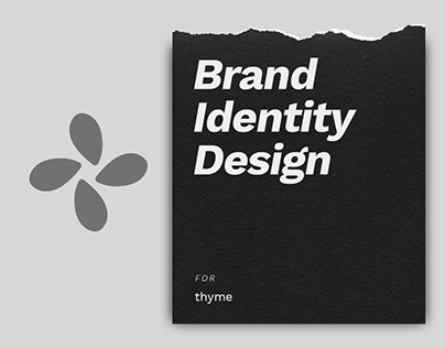 thyme Brand Identity