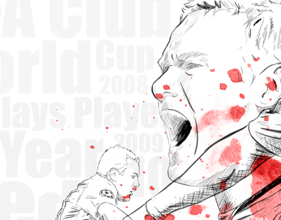 Wayne Rooney Illustration