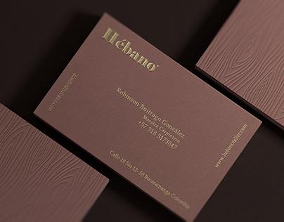 Hébano - Business Cards