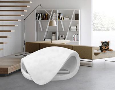 Dog bed - 3D MODELING