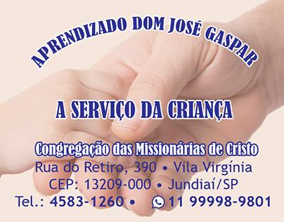 Aprendixado Dom José Gaspar