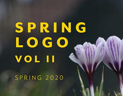 Logo Designs Spring Vol II