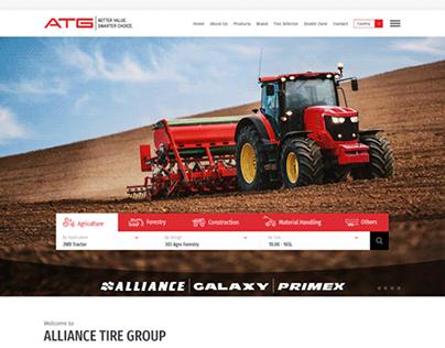 ATG Tires, Website