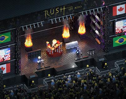 The Lego Challenge - Rush in Rio - Render Challenge #11