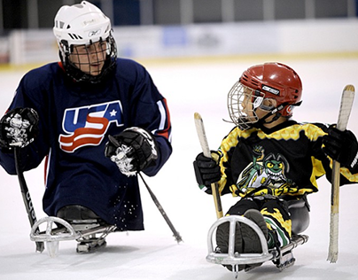 Sled Hockey is For Everyone - Spencer Schneider