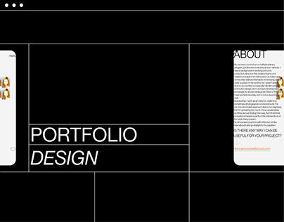 PORTFOLIO \\website