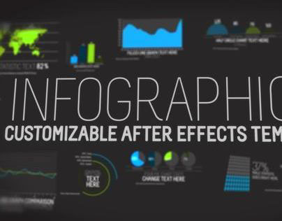 Infographics After Effects template