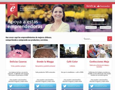 Santander Banefe - Mujer Emprendedora