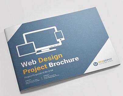 Landscape Web Design Project Brochure