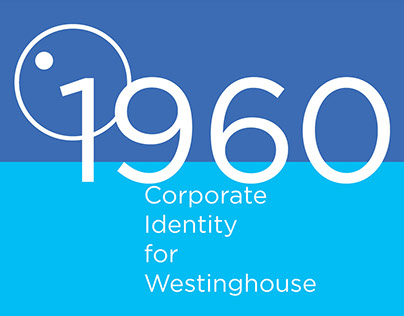 Landmark Poster: Corporate Identity for Westinghouse