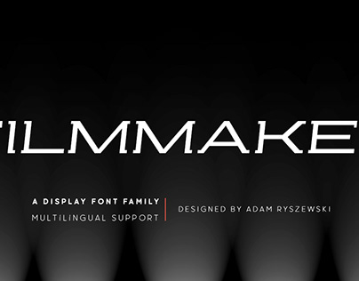 Filmmaker font family