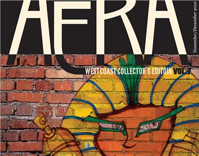 Aera Magazine Cover Design