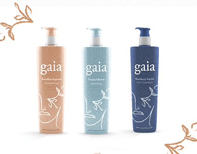 Gaia | Sustainable Shampoo Packaging