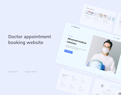 Doctor appointment booking website