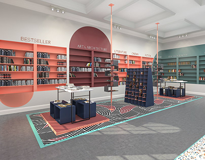 BOOKSTORE - Interior Design