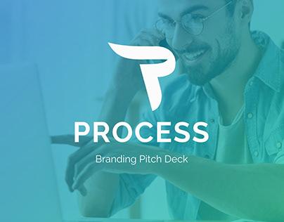 Branding Process Powerpoint Pitch Deck Template