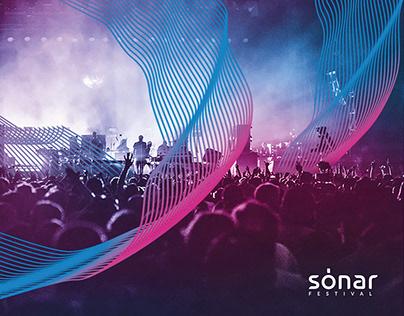 SONAR_Music Festival Identity Concept