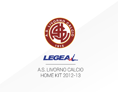 AS Livorno Calcio - Official Matchwear 2012-13