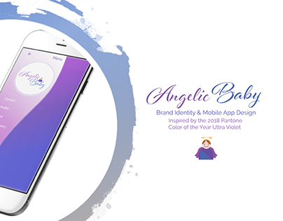 Angelic Baby: Brand & Mobile App Design