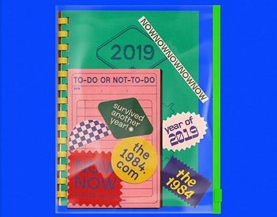 2019 NEW YEAR SOUVENIR