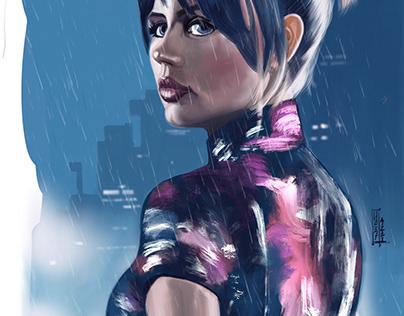 Blade Runner 2049- Illustration