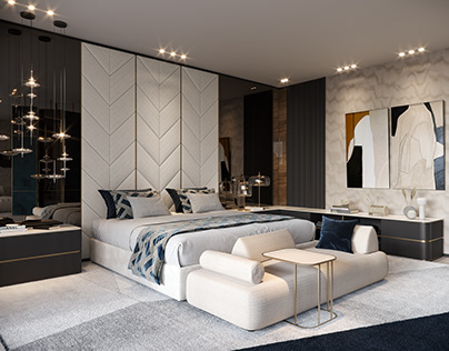 ELEGANT BEDROOM IN MADRID