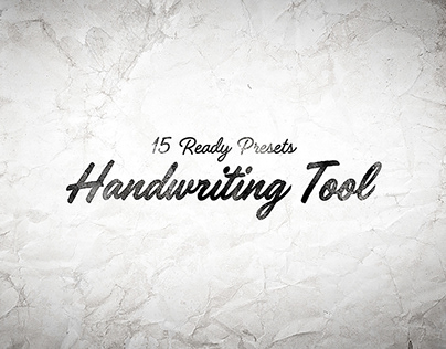 Handwriting Tool for After Effects