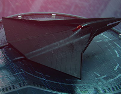 """Waiting"" Sith Manta ship concept."