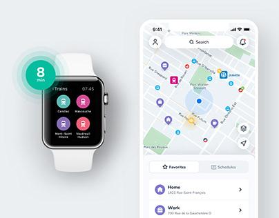 App, UI design: Chrono