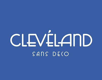 Free Cleveland Sans Serif Font