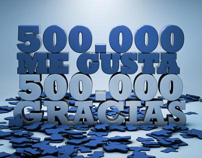 500 LIKES, 500 THANKS