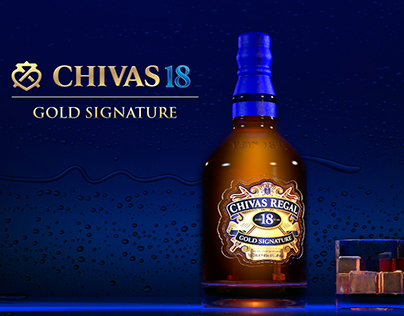 Modelado 3D - Chivas Regal 18