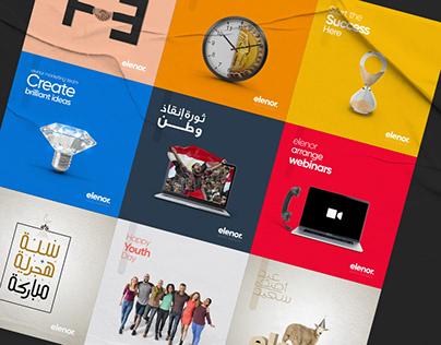 Social Media - elenor Marketing Agency