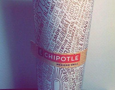 Chipotle Burrito Packaging