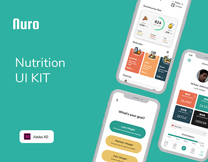 Nuro - Nutrition UI Kit