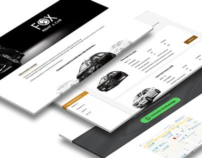 Fox Rent a Car - Web App