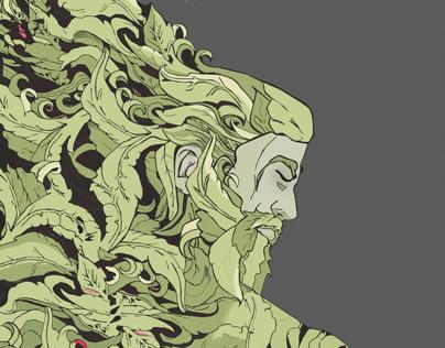"The Green Man ""Kodama"""