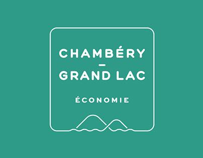 Brochure et stand | Chambéry Grand Lac économie