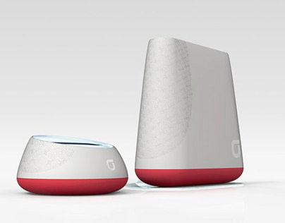 """Korean Telecom """"olleh"""" - Digital home Wi-Fi series"""