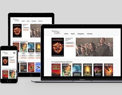 Suzanne Collins Website