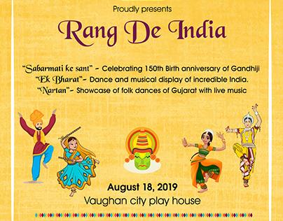 Rang De India by Kyaansh Production
