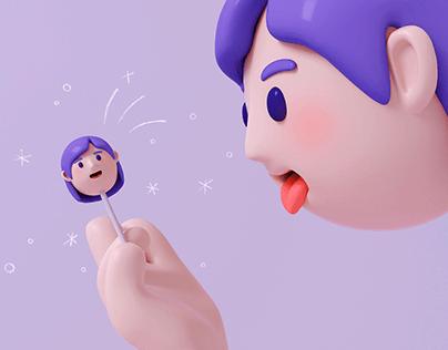 Lollipop girl