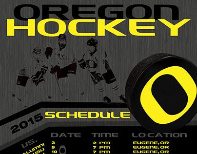 Oregon Ducks hockey schedule