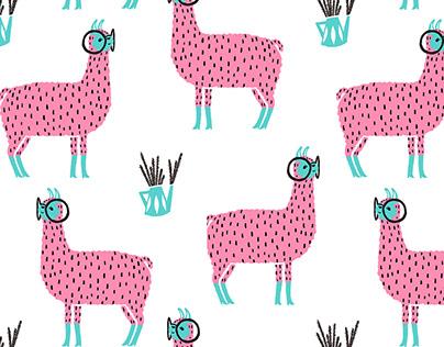 Funky llamas