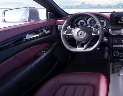 CGI   Mercedes Benz CLS Interior