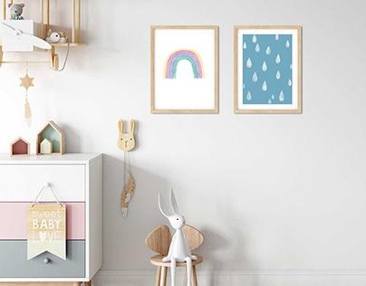 Poster fürs Kinderzimmer